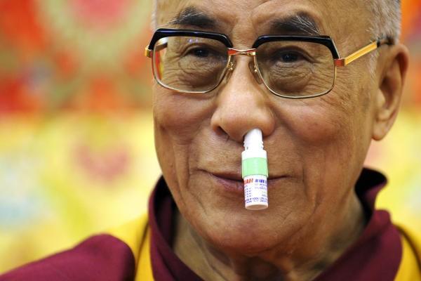 dalai lama laughing-н зурган илэрц